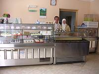 Picture 2: After setting up his own business – running his own bakery /Kosovo