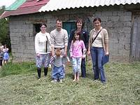 Picture 4: A visit with a family after their return to their homeland /Kosovo